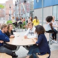 Espace extérieur, Campus de Lille